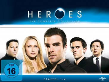 Heroes - The Complete Collection (Blu-ray)</p> <p>