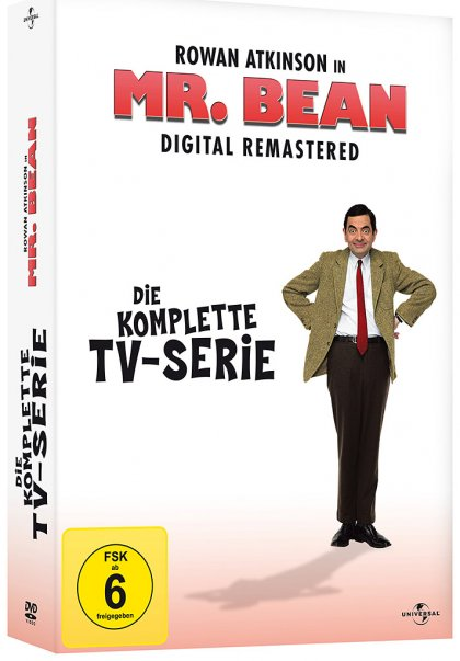 Mr. Bean - Die komplette TV-Serie - Digital Remastered (DVD)