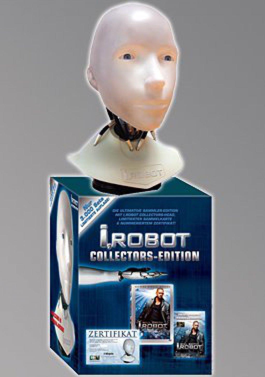 I-Robot-Collector-039-s-Edition-Kunststoff-Robotkopf-1-1-2-DVD-BOX-NEU