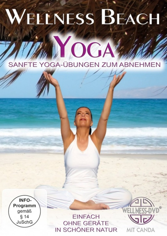 wellness beach yoga sanfte yoga bungen zum abnehmen dvd neu 4029378170111 ebay. Black Bedroom Furniture Sets. Home Design Ideas