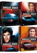 Knight Rider - komplette Staffel 1-4 Set (DVD)