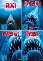Der weisse Hai 1-4 Set (DVD)