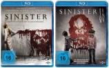 Sinister 1+2 Set (Blu-ray)