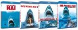 Der weisse Hai 1-4 Set (Blu-ray)