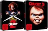 Chucky 2+3 - exklusives Steelbook Set (Blu-ray)