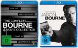 The Complete Bourne 4 Movie Collection + Jason Bourne - Set (Blu-ray)
