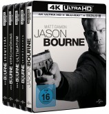 Jason Bourne 1-5 Set - 4K Ultra HD Blu-ray + Blu-ray (Blu-ray)