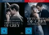 Fifty Shades of Grey 1+2 Set / Geheimes Verlangen + Gefährliche Liebe (DVD)