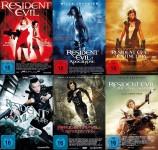 Resident Evil 1-6 Set (DVD)