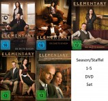 Elementary Season/Staffel 1+2+3+4+5 Set (DVD)