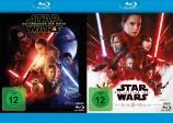 Star Wars: Episode VII - Das Erwachen der Macht + Star Wars: Episode VIII - Die letzten Jedi - Set (Blu-ray)