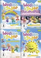 Wolkenkinder - Der große Auftritt + Das Himmelsrennen + Die Sternensammler + Die Knallblumen - Set (DVD)