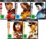 Mission: Impossible 1 + 2 + 3 + 4 - Phantom Protokoll + 5 - Rogue Nation Set - 4K Ultra HD Blu-ray + Blu-ray (4K Ultra HD)