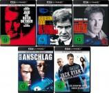 Jack Ryan - 5 Movie Collection Set - 4K Ultra HD Blu-ray + Blu-ray (4K Ultra HD)