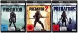 Predator 1+2+3 (Predators) - Set - 4K Ultra HD Blu-ray + Blu-ray (4K Ultra HD)