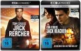 Jack Reacher + Jack Reacher - Kein Weg zurück - 4K Ultra HD Blu-ray + Blu-ray (Ultra HD Blu-ray)