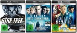 Star Trek + Star Trek - Into Darkness + Star Trek - Beyond - Set - 4K Ultra HD Blu-ray + Blu-ray (Ultra HD Blu-ray)
