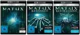 Matrix + Matrix - Reloaded + Matrix - Revolutions - 4K Ultra HD Blu-ray + Blu-ray - Trilogie Set 1+2+3 (4K Ultra HD)