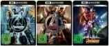 The Avengers + Avengers - Age of Ultron + Avengers: Infinity War - 4K Ultra HD Blu-ray + Blu-ray - Set (4K Ultra HD)