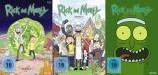 Rick and Morty - Staffel 1+2+3 Set (DVD)