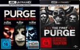 The Purge - 3-Movie-Collection + The First Purge - 4K Ultra HD Set (Blu-ray)