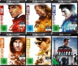 Mission: Impossible 1+2+3+4+5+6 Set – 4K Ultra HD Blu-ray + Blu-ray (4K Ultra HD)