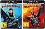 Drachenzähmen leicht gemacht 1+2 Set - 4K Ultra HD Blu-ray + Blu-ray (4K Ultra HD)
