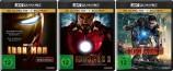 Iron Man Trilogie 1+2+3 Set - 4K Ultra HD Blu-ray + Blu-ray (4K Ultra HD)