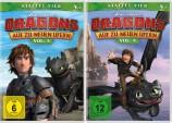 Dragons - Auf zu neuen Ufern - Staffel 4 / Vol. 3+4 - Set (DVD)