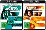 Fast & Furious 4 Neues Modell. Originalteile. + Fast & Furious 5 4K Set - 4K Ultra HD Blu-ray + Blu-ray (4K Ultra HD)