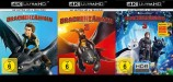 Drachenzähmen leicht gemacht 1+2+3 Set - 4K Ultra HD Blu-ray + Blu-ray (4K Ultra HD)