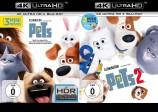 Pets 1+2 - Set - 4K Ultra HD Blu-ray + Blu-ray (4K Ultra HD)