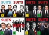 Suits - Die kompletten Staffeln 1+2+3+4+5+6+7+8 im Set (DVD)