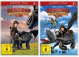 Dragons - Auf zu neuen Ufern - Staffel 5 / Vol. 1+2 - Set (DVD)