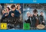 Phantastische Tierwesen + Phantastische Tierwesen: Grindelwalds Verbrechen - Kinofassung & Extended Cut im Set (Blu-ray)
