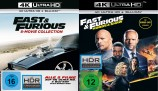 Fast & Furious - 8-Movie Collection + Fast & Furious: Hobbs & Shaw im Set - 4K Ultra HD Blu-ray + Blu-ray (4K Ultra HD)
