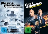 Fast & Furious - 8-Movie Collection + Fast & Furious: Hobbs & Shaw im Set (DVD)