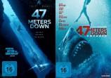 47 Meters Down + 47 Meters Down - Uncaged - Set (DVD)