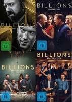 Billions - Staffel 1+2+3+4 - Set (DVD)