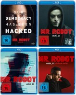 Mr. Robot - Staffel 1+2+3+4 im Set (Blu-ray)