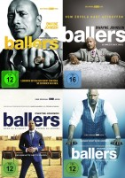Ballers - Staffel 1+2+3+4 im Set (DVD)