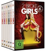 2 Broke Girls - Die komplette Serie - Staffel 1+2+3+4+5+6 im Set (DVD)
