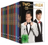 Two and a Half Men - Staffel 1+2+3+4+5+6+7+8+9+10+11+12 im Set (DVD)