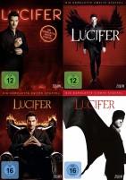 Lucifer - Staffel 1+2+3+4 im Set (DVD)