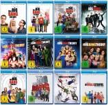 The Big Bang Theory - Staffel 1+2+3+4+5+6+7+8+9+10+11+12 im Set (Blu-ray)