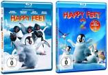 Happy Feet 1+2 im Set (Blu-ray)