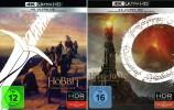 Der Hobbit + Der Herr der Ringe im Set / Die Spielfilm Trilogie / Extended Edition / 4K Ultra HD Blu-ray (4K Ultra HD)