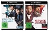 Sherlock Holmes + Sherlock Holmes 2 - Spiel im Schatten - 4K Ultra HD Blu-ray + Blu-ray / im Set (4K Ultra HD)
