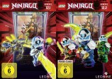 LEGO Ninjago: Masters of Spinjitzu - Staffel 12.1 + 12.2 im Set (DVD)