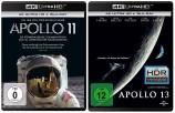 Apollo 11 + Apollo 13 im Set - 4K Ultra-HD (Blu-ray)
